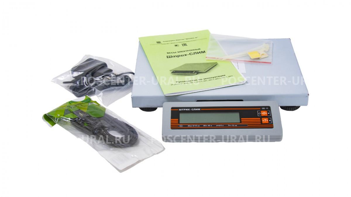 Весы фасовочные ШТРИХ-СЛИМ 300М 15-2,5 Д1Н (POS2)