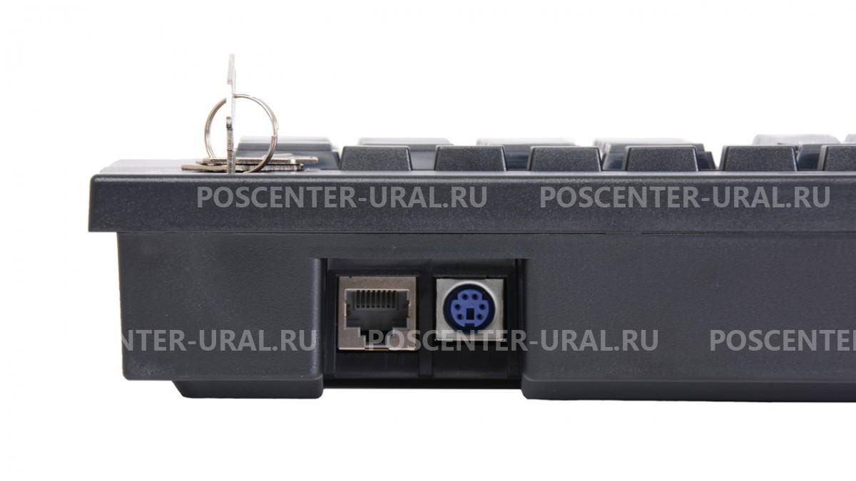 Клавиатура программируемая Poscenter S67B (67 клавиш, MSR, ключ, USB, 3,0 м.), черная